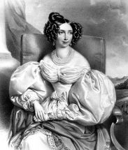 Image of PRINCESS SOPHIE OF BAVARIA by Josef Kriehuber