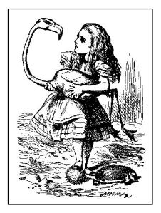 Image from Alice in Wonderland