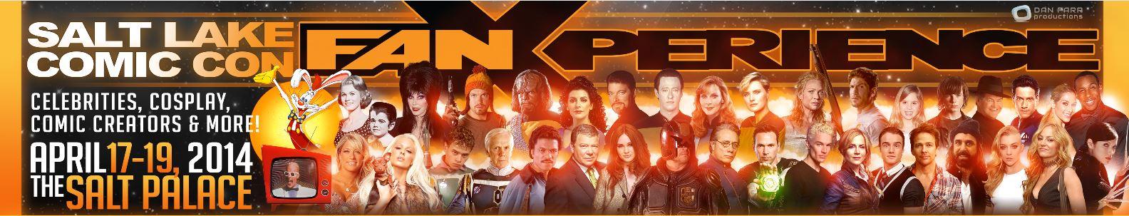 next week's Comic Con 2014: Fan Experience in Salt Lake City, Utah