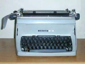wikipedia underwood typewriter
