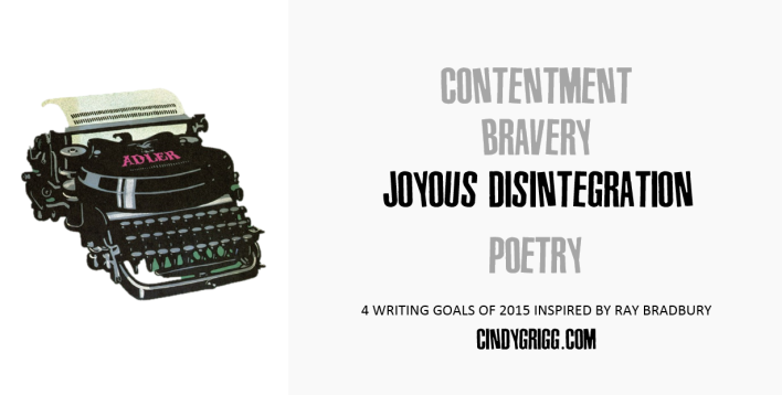 Writing Goals for 2015