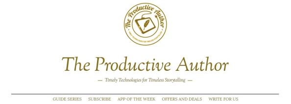 the-productive-author